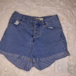 Brandy Melville High Waisted Mom shorts